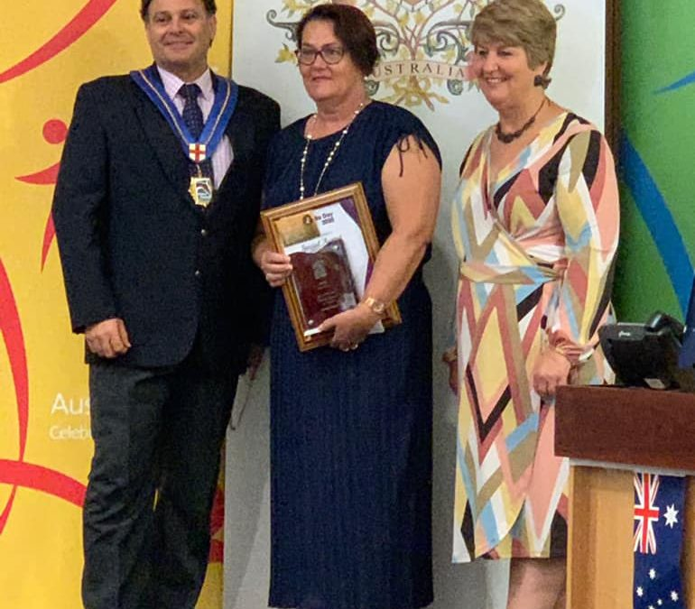 Congratulations Lindy Hunt – Australian of the Year Award 2020