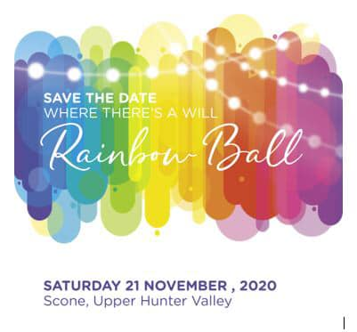 Save the Date-2020 Rainbow Ball!